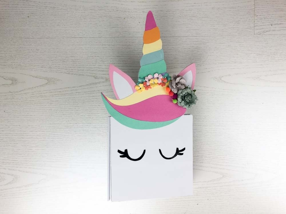 curso álbum unicornio bacarrat | tiffetscrapbooking