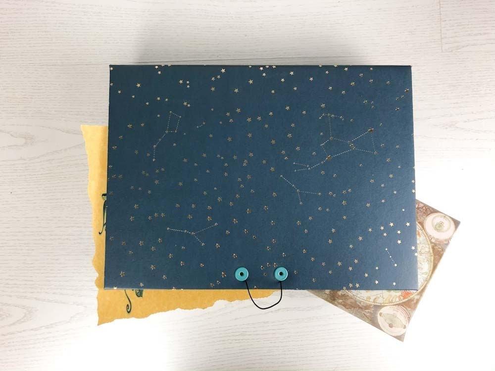 curso caja stars hollow : regala una estrella | Tiffetscrapbooking